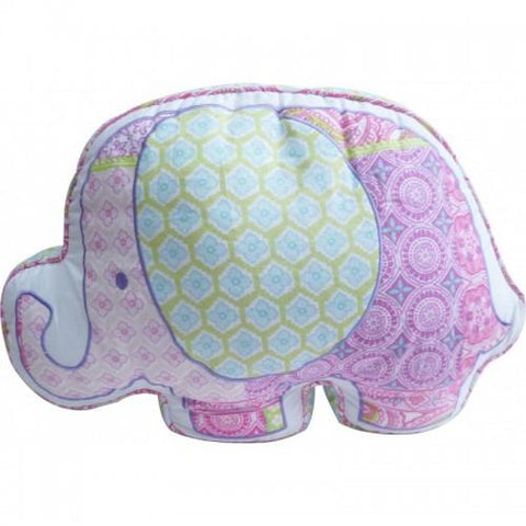 Elephant Cuddling Cushion-Lilypond Kids