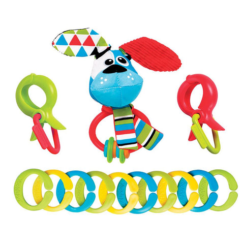 Yookidoo Clips, Rattle 'N' Links - Dog-Lilypond Kids