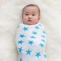 Fluro Blue 2-pk Swaddle by Aden & Anais-Lilypond Kids