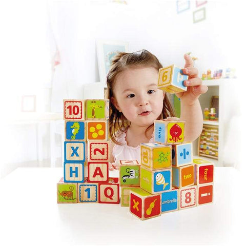 Hape ABC Blocks 26 Pieces-Lilypond Kids