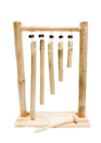 Bamboo Hanging Xylophone-Lilypond Kids