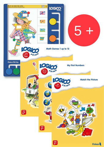 Logico Primo Starter Package Ages 5-6-Lilypond Kids