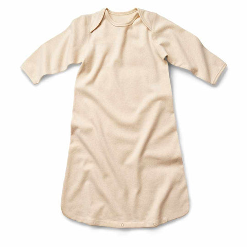 Fibre for Good Organic Cotton Long Sleeve Sleeping Bag – Wheat-Lilypond Kids