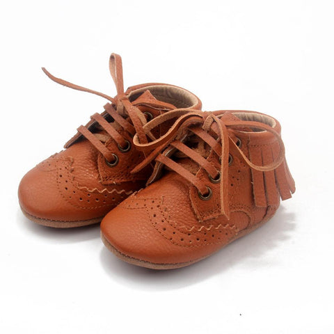 The Blake Boot Collection - 100% Leather - Tan-Lilypond Kids