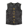 MLW By Design - Ratbag Stonewash Tank Top-Lilypond Kids