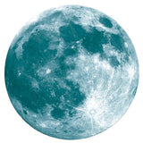 Glow In The Dark Full Moon Wall Sticker-Lilypond Kids