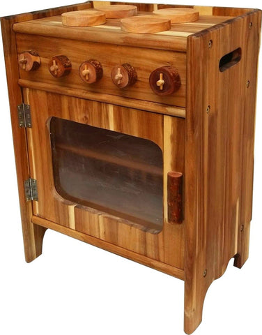 Natural Wooden Stove-Lilypond Kids