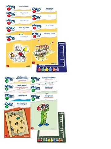 LOGICO set Primo and Piccolo - 16 books and 2 boards-Lilypond Kids