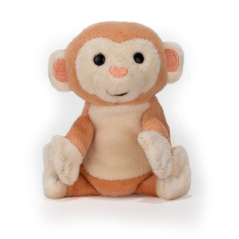 Apple Park Monkey Finger Puppet-Lilypond Kids