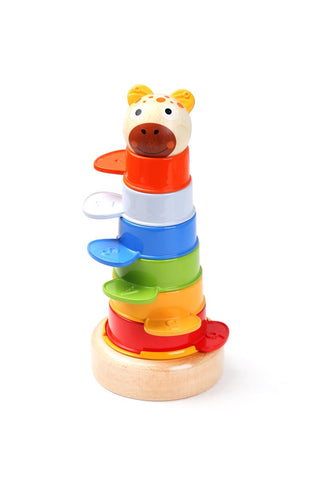 Animal Stacking Tower-Lilypond Kids