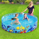 Bestway Swimming Pool Above Ground Kids Play Pools Inflatable Fun Odyssey Pool-Lilypond Kids