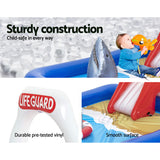 Bestway Swimming Pool Above Ground Kids Play Pools Lifeguard Slide Inflatable-Lilypond Kids