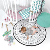 Babies Play Mat - Indian Village-Lilypond Kids