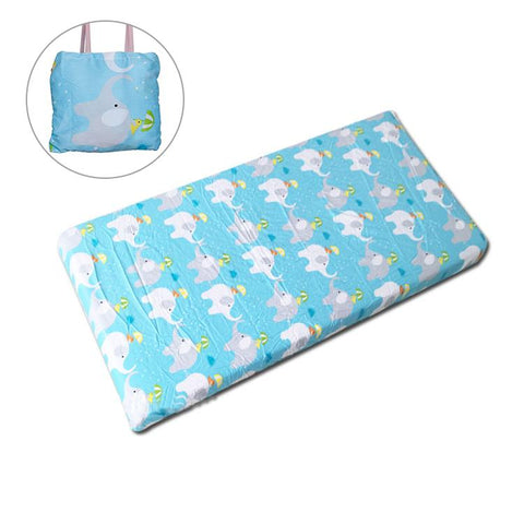 Fitted Cot Sheet 100% Cotton - 8 Fun Prints-Lilypond Kids