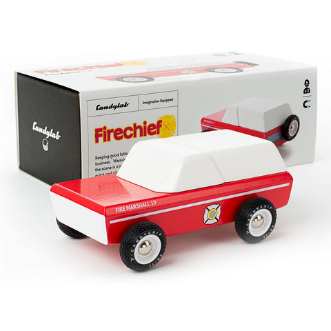 Fire Marshall Toy Car-Lilypond Kids