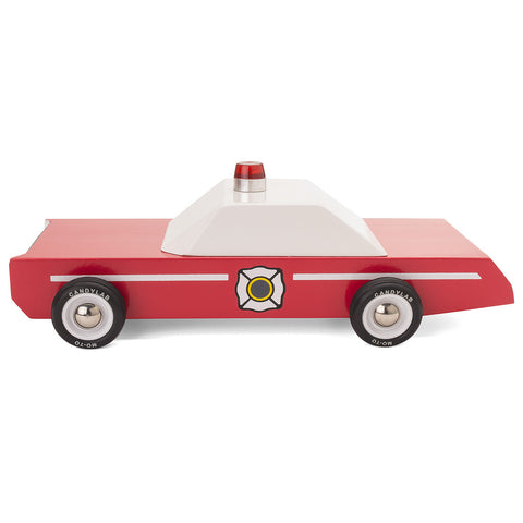 Fire Chief Toy Car-Lilypond Kids