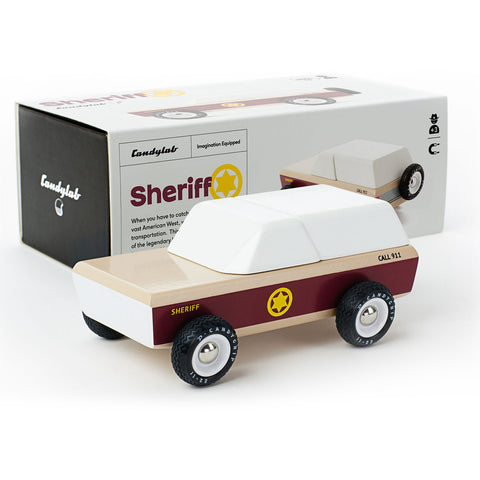 Sheriff Toy Car-Lilypond Kids