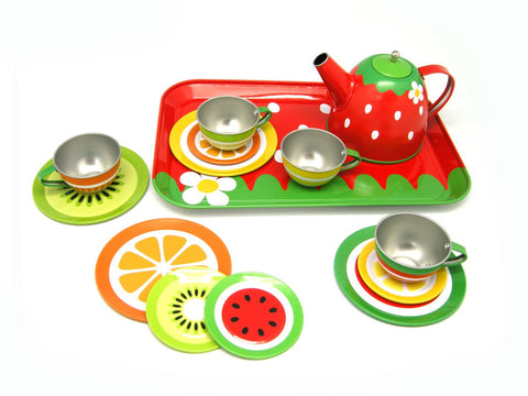 Fruit Tin Tea Set-Lilypond Kids