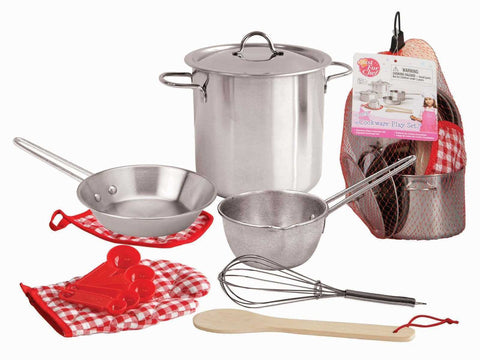 Stainless Steel Cooking Playset-Lilypond Kids