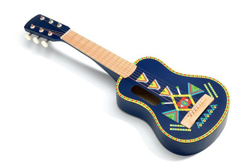 Animambo Guitar with 6 Metallic Strings-Lilypond Kids