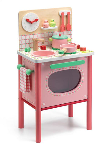 Djeco Lilas Cooker Kitchen Set-Lilypond Kids