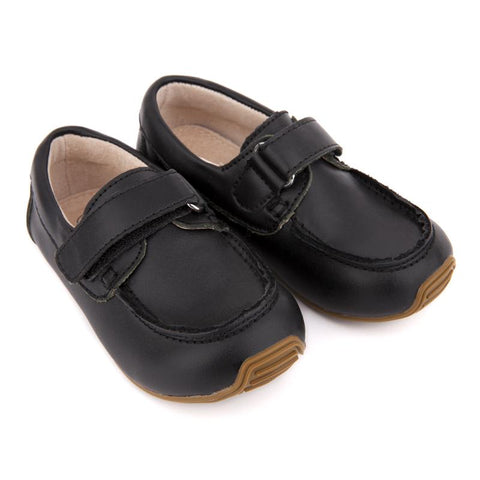 Deck Shoes Black-Lilypond Kids