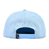 Blue With White Palm Tree Snapback Hat-Lilypond Kids