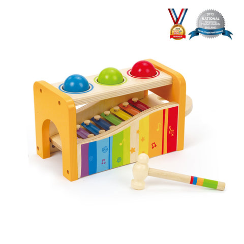 Hape Early Melodies Pound and Tap Bench-Lilypond Kids