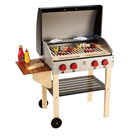 Hape Gourmet Grill with Food-Lilypond Kids