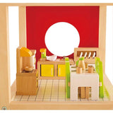 Hape All Seasons Dollhouse Dining Room-Lilypond Kids
