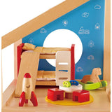 Hape All Seasons Dollhouse Child's Bedroom 14 Pieces-Lilypond Kids