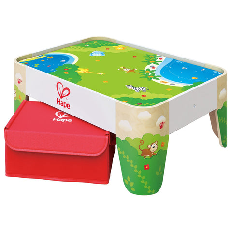 Hape Railway Play Table-Lilypond Kids