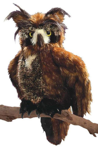 Folkmanis - Great Horned Owl Puppet-Lilypond Kids