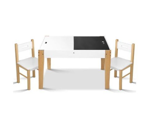 Two Tone Kids Table and Chair Set-Lilypond Kids