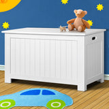 Kid's Toy Cabinet Chest White-Lilypond Kids