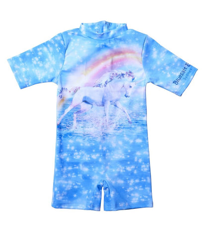 Bluesalt Unicorn Girls Rash Suit - All In One Suit-Lilypond Kids