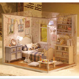 DIY Miniature Wooden Doll House - Cottage Style Bedroom - Lilypond Kids