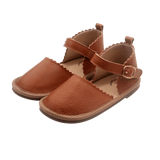 The Sweetheart Collection - 100% Textured Leather - Tan-Lilypond Kids