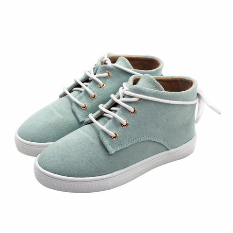 The Gelato Collection - 100% Suede - Mint-Lilypond Kids
