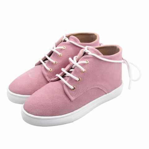 The Gelato Collection - 100% Suede - Pink-Lilypond Kids