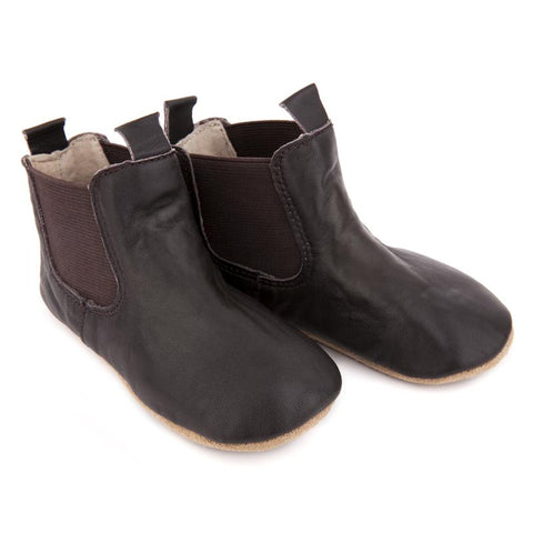 Pre-Walker Riding Boots Chocolate-Lilypond Kids
