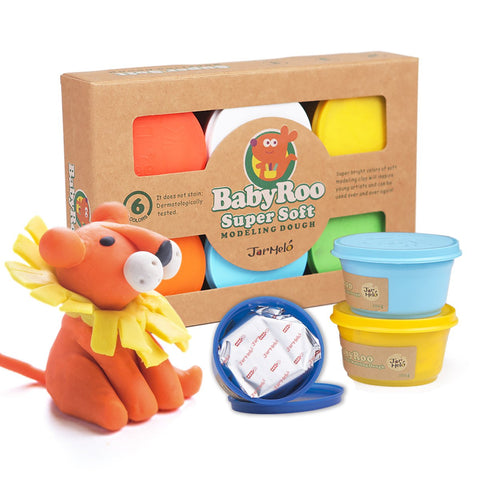 Modelling Dough - 6 Colours-Lilypond Kids
