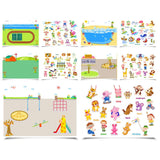 Reusable Sticker Pad Set - City Park-Lilypond Kids