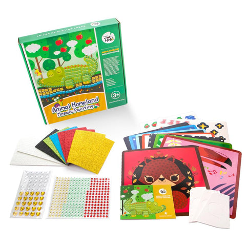 Mosaics Craft Kit - Animal Homeland-Lilypond Kids