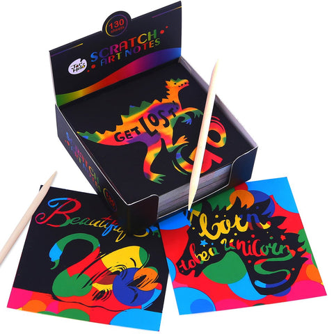 Scratch Art Notes Set-Lilypond Kids