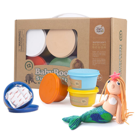 Modeling Dough - 12 Colours-Lilypond Kids