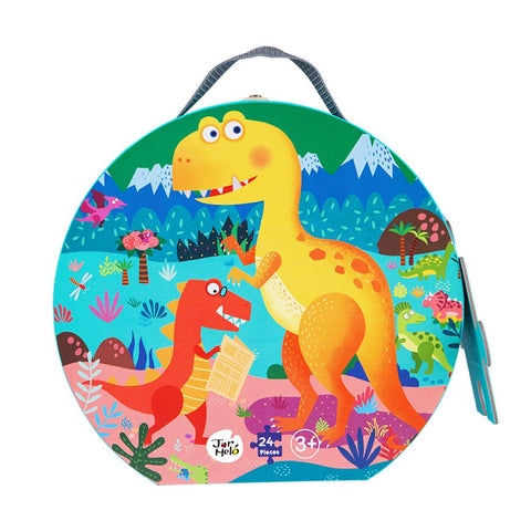 Thematic Floor Puzzle Series - Dinosaur Paradise-Lilypond Kids