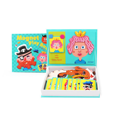 Magnet Play Box - Crazy Faces-Lilypond Kids