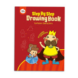 Drawing Book-cartoon Characters (step by Step)-Lilypond Kids
