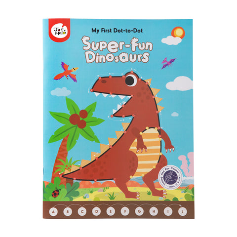 My First Dot-to-dot Drawing Book-super Fun Dinosaurs-Lilypond Kids
